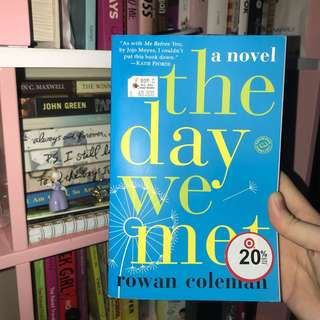 Novel the day we met
