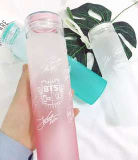 BTS Water Bottle (4 COLORS AVAILABLE) (PRE-ORDER)