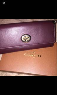 Coach authentic wallet new