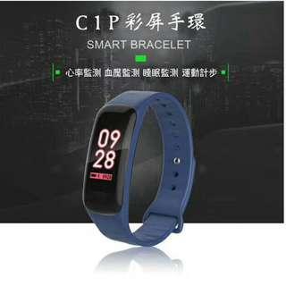 🚚 新款CIP彩色螢幕智能手錶(可量血氧血壓心律睡眠品質)