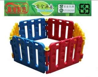 台灣製 兒童安全防護無門圍欄 PY01