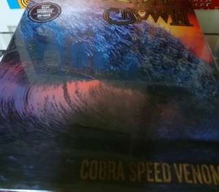 Mint sealed the crown cobra speed venom Ltd 262/300 numbered  record vinyl