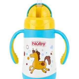 Perlengkapan Makan Bayi NUBY STRAW CUP 280ML HORSE