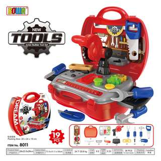 Junior Builder Tools Playset (Bowa Dream The Suitcase)
