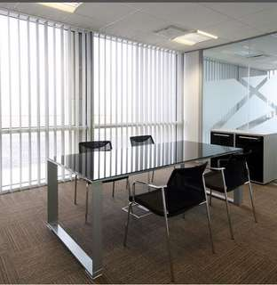 Elegant Office Vertical Blind