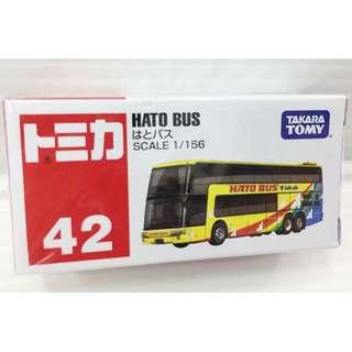 「日本帶回」正版 多美 合金 小汽車 巴士 HATO BUS TOMIKA