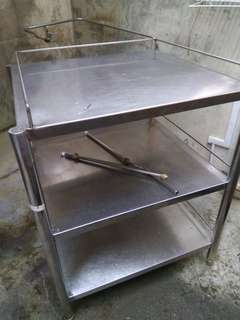 3 Tier stainless steel rack for urgent sales!!