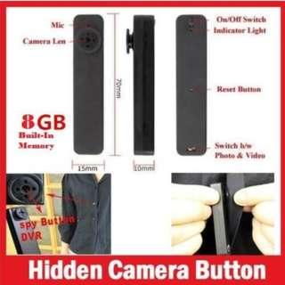 hy900 1.3mp spy button camera 8gb