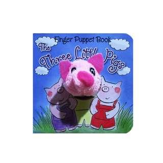 Buku Anak THE THREE LITTLE PIGS - FAIRY TALE FINGER PUPPET BOARD BOOK