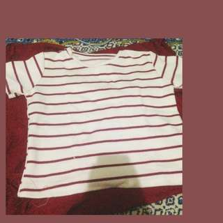 red/white striped shirt