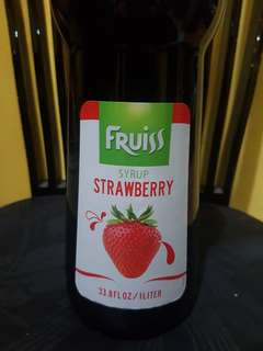 Fruiss™ Strawberry Syrup - 1L