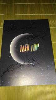 TEENTOP 《SEOUL NIGHT》最新簽名CD !(齊全部成員簽名)