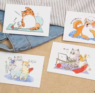 (Instock) My Animal Friends 1 Postcards