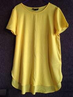 New Look Women's Yellow Tops  Yellow Blouse