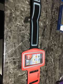 Elastic arm band for phone