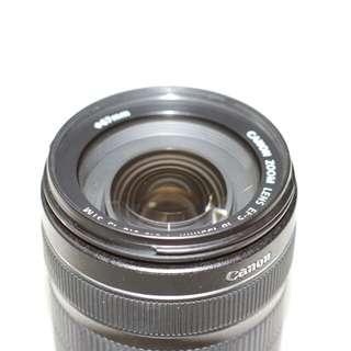 Lensa canon ef-s 18-135mm stm