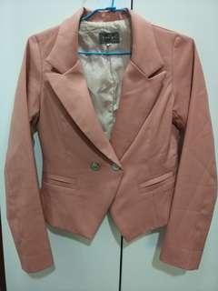 🚚 粉紅西裝外套