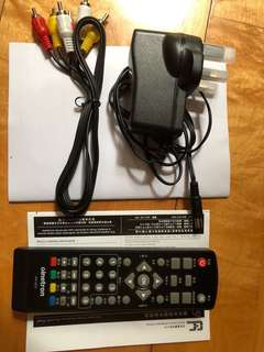 高清解碼遙控手制連配件