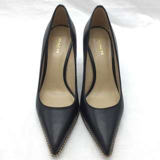 Coach TAMERA PUMPS - Coach 黑色高跟鞋