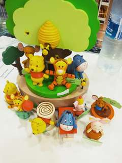 Winnie the pooh and friends collectibles