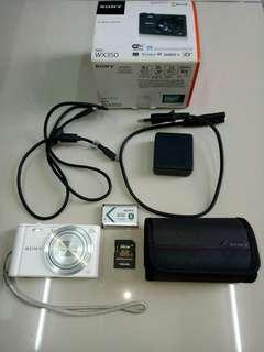 Sony Cybershot WX350 full box