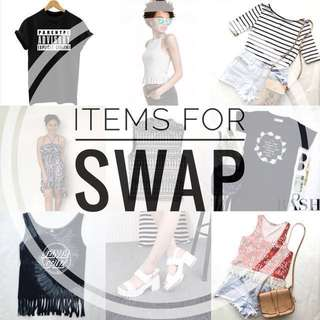 ITEMS FOR SWAP