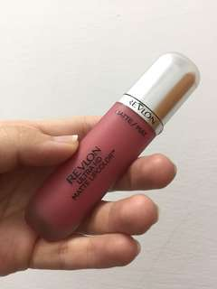 Revlon 露華濃 乾燥玫瑰 HD超霧感唇釉600 迷漾裸玫瑰