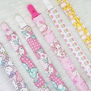 Pacifier Clips $12 each