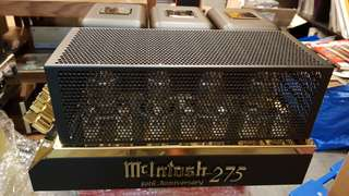 McIntosh 275 50th anniversary gold limited edition 1 month old