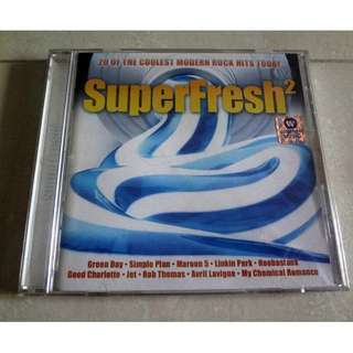 Super Fresh 2 - 20 Of The Coolest Modern Rock Hits CD Green Day, Linkin Park etc
