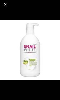 By Namu : Snail White ( Anti Aging ) shower Creme x 500 ml