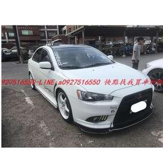 2013年 三菱 FORTIS IO 白色 專營台灣優質中古車-二手車