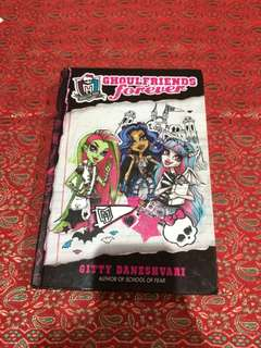 monster high ghoulfriends forever book 1 ori