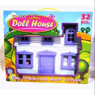 Doll house 32pcs