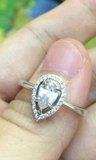 🈹️私人放 18K金鑽石戒指 共60份 大大粒 原價$17000 平售$6880 超級閃