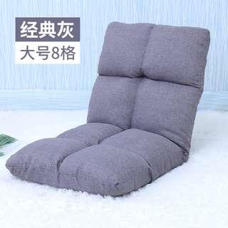 日式簡約床上可折疊靠背懶人沙發 8格HK$228