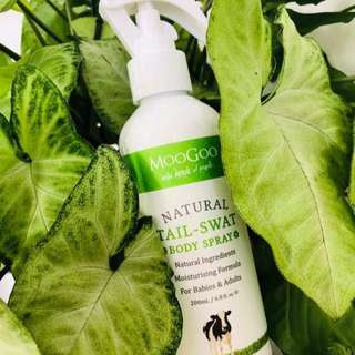 Moogoo Natural Tail Swat Body Spray