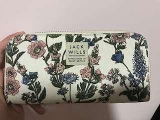 Jack Wills長款銀包