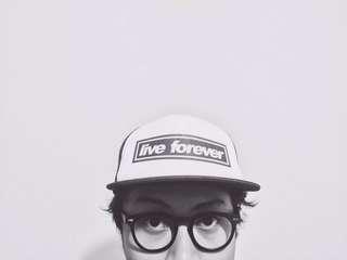 """""""live forever"""" Trucker Hat"""
