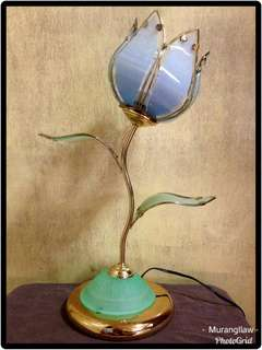 Blue Flower Table Lamp