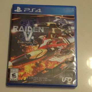 PS4 RAIDEN V Director's Cut Limited Edition