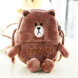 可愛熊熊斜孭包