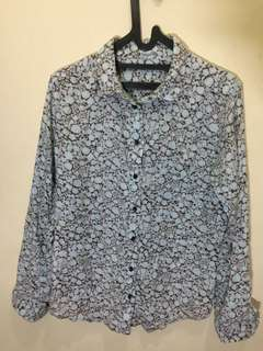 UNIQLO Floral Shirt