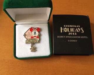 日本迪士尼酒店限定徽章