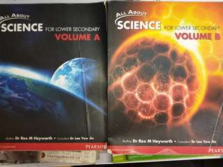 All About Science Lower Secondary