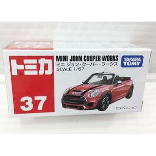 🚚 「日本帶回」正版 多美 合金 小汽車 MINI COOPER 敞蓬 TOMIKA
