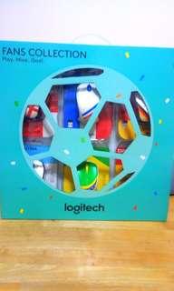 世界盃系列Logitech Fan Collection 無線滑鼠一套6隻