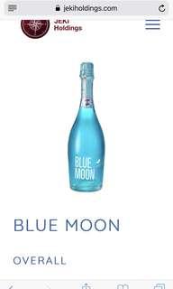 Blue moon 🌓 星空酒 藍色 wine of fire  🇪🇸 買三送一