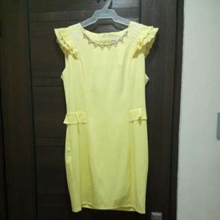 [Never worn] Yellow dress