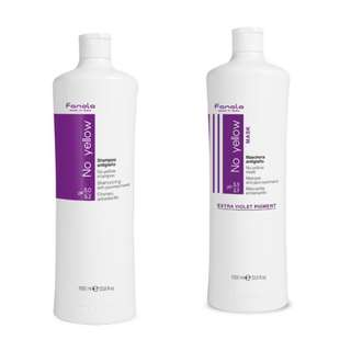 Fanola No Yellow Shampoo & Mask 1000ml